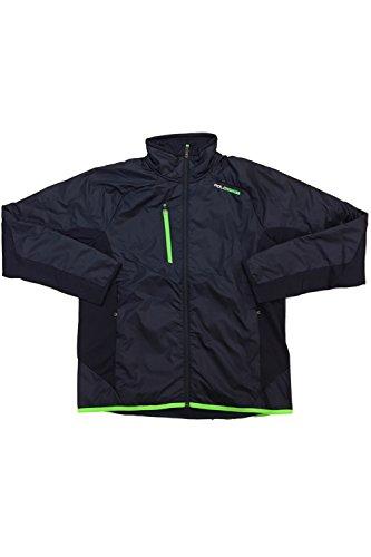 Ralph Lauren Polo Sport Men's Hybrid Full Zip Windbreaker Jacket, French Navy Blue (Large)