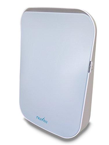 馃 Nuvita Purificador de Aire Ionizador 1850 – Filtro HEPA Aut茅ntico y Filtro de Carb贸n Activado – Elimina el Polvo Fino