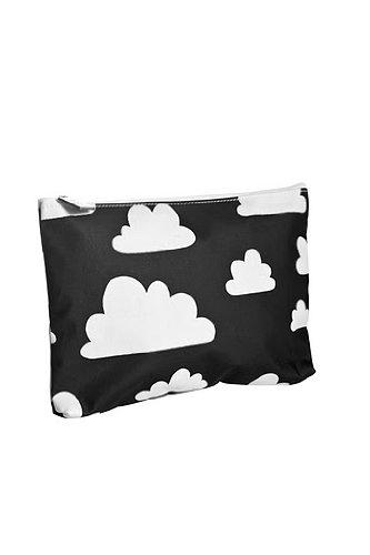Farg Form–Bolsa pequeña con Cloud Print negro negro negro
