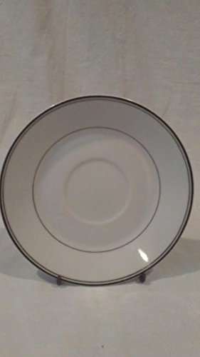 """Simplicity Fine china White & Thin Lines Saucer Plate. 6"""" Diameter Saucer plate"""