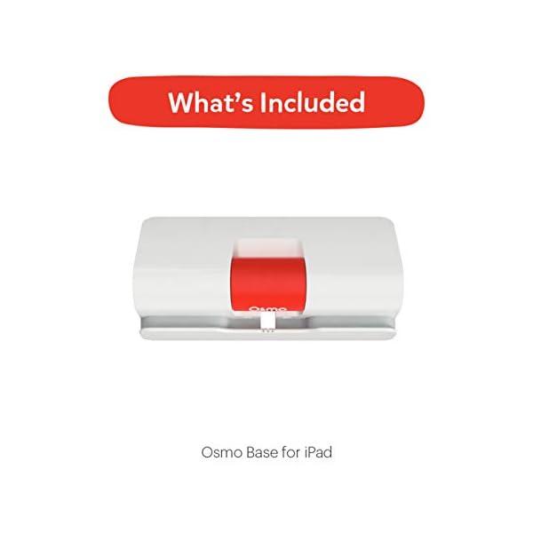 Osmo – Base – 2 giochi di apprendimento mani – disegno creativo e risoluzione dei problemi – fisica precoce – bianco/rosso 6 spesavip