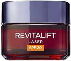 L'Oreal Paris Dermo Expertise Revitalift Láser Neceser que Incluye Crema de Día Antiedad con SPF 20 - 50 ml