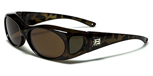 Barricade Polarized Round Fit Over Glasses - Prescription Polarised Sunglasses