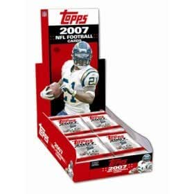 2007 Topps NFL Football Cards - Factory Sealed HOBBY Box (36 Packs) Possible Adrian Peterson Rookie Card