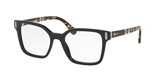 2fdc49f419b Image Unavailable. Image not available for. Color  Prada Women s PR05TV Eyeglass  Frames 1AB1O1-50 - Black