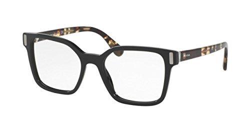 52e6224e25c Image Unavailable. Image not available for. Color  Prada Women s PR05TV Eyeglass  Frames 1AB1O1-50 - Black