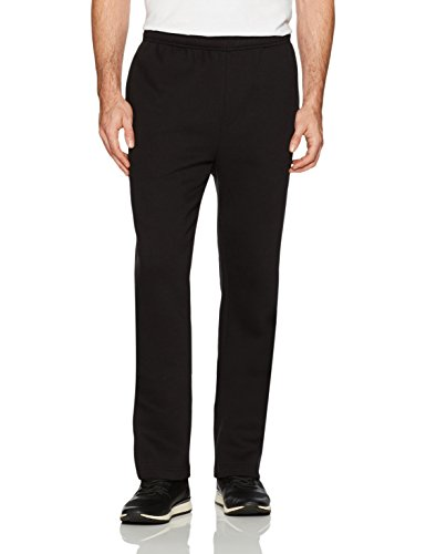Amazon Essentials Men's Fleece Sweatpants, Black, Medium