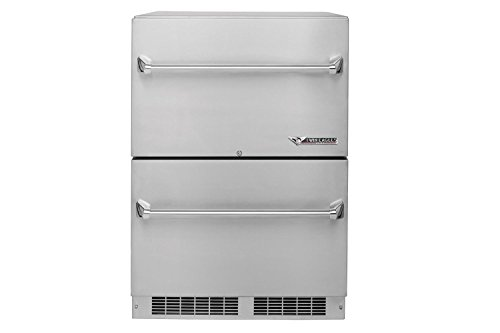 Twin Eagles TERD242-F Outdoor Two Door Refrigerator, 24 Inch by Twin Eagles