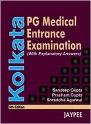 Kolkata PG Medical Entrance Examination