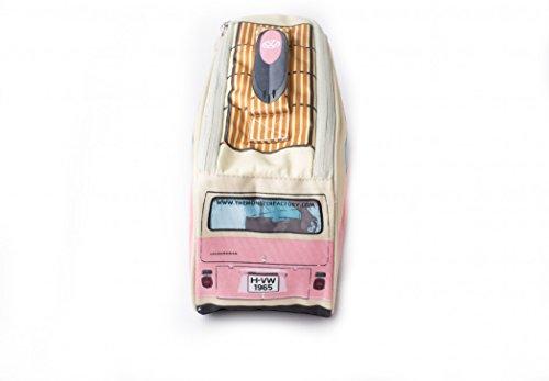 VW Bus Kühltasche rosa, Tolles Weihnachtsgeschenk, Volkswagen Bully Lunch Bag, Bulli, Campervan. Das Original von ERRO. Tolle Retro Geschenkidee für Mädchen oder coole Girls. Picknick Tasche für VW-Fa