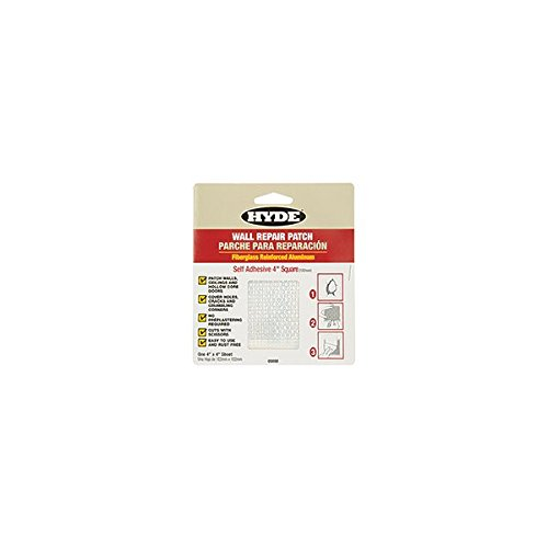 Hyde Tools #09898 4x4 Aluminum Drywall Patch