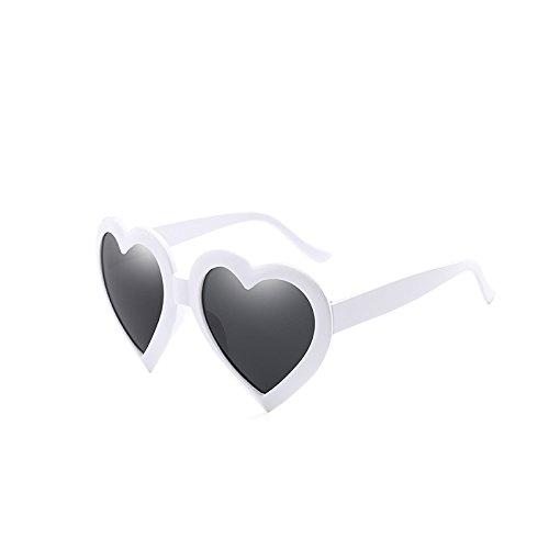 métal de armature UV Lunettes de cardiaques des des Blanc protection hommes soleil en femmes 400 pour Lunettes DEBEME Vintage p7xwq8v1q