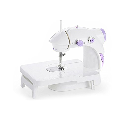 Iboost Portable Sewing Machine with Extension Table, Bobbins