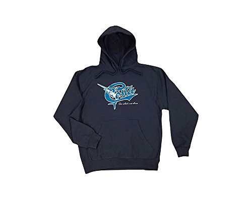 Free Costa Del Mar 2014 Limited Edition Retro Hoody - Navy Blue - 2XL