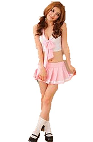 [team t Pink Student Costume Sexy Cute] (Dance Hire Costumes)