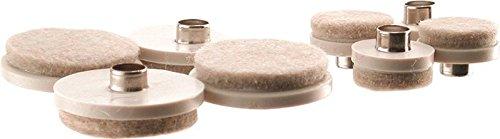 Glide Furniture 1&1-1/2in Almd