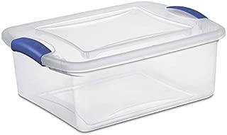 product image for Sterilite 15 Quart Latch Box- Stadium Blue, Case of 10 (15-Quart)