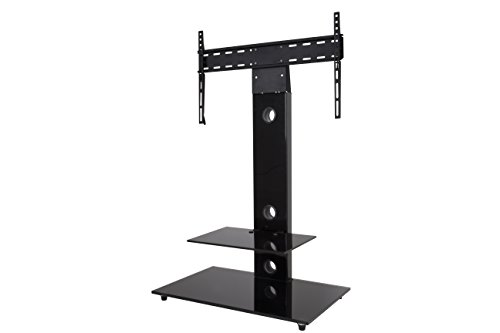 AVF FSL700LEB-A Lesina TV Floor Stand with TV Mounting Column for 32-inch to 65-Inch TVs, (600 Tv Lines)