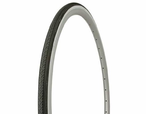 Tire Duro 700 x 25c Black/White Side Wall HF-187. Bicycle tire, bike tire, track bike tire, fixie bike tire, fixed gear tire by Lowrider