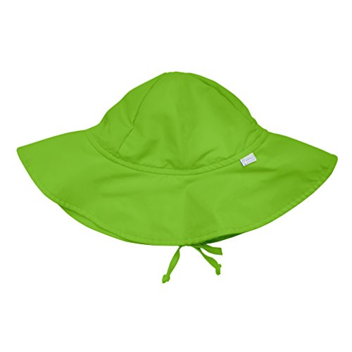 i play. Baby Brim Sun Protection Hat, Lime, 0-6 Months