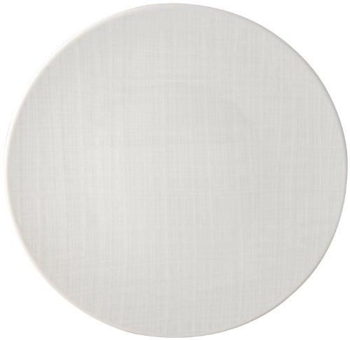 Bernardaud 560220329 Organza Coupe Dinner Plate, White