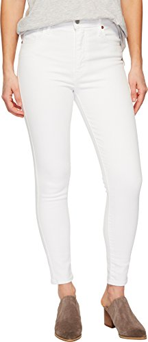 Levi's Women's Mile High Ankle Super Skinny Jeans, Western White, 29 ()