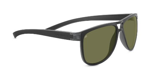 Serengeti Verdi Sunglasses, Sanded Dark - Serengeti Parts Sunglasses