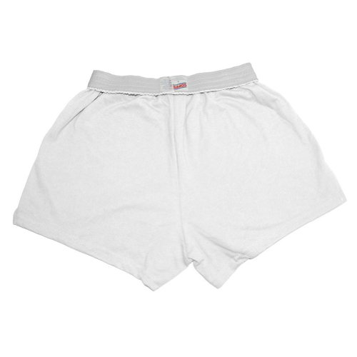 Discount Original Soffe Cheer Shorts, White, Adult Large hot sale