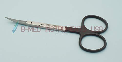 """Iris Scissor 4.5"""" Supercut Curved Serrated Blade"""