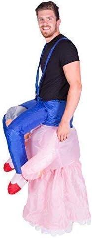 Bodysocks/® D/éguisement Grand-m/ère Gonflable Adulte