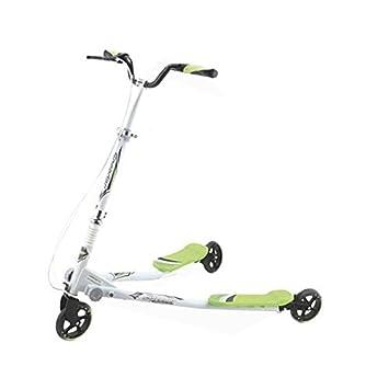 Patinete Speeder 3 ruedas Verde/Blanco, ruedas 125 mm. tipo ...
