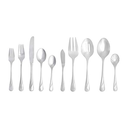AmazonBasics 65-Piece Stainless Steel