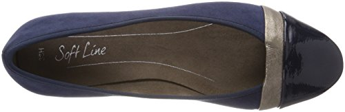 Linea Morbida Softline 22165-20 - 805 Scarpe Da Donna Navy (artificiali)