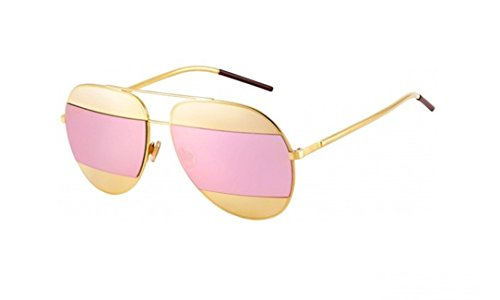 Dior Women CD SPLIT1 59 Rose Gold/Pink Sunglasses - Dior Pink Sunglasses
