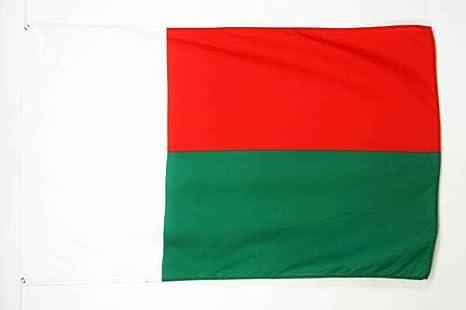 AZ FLAG Drapeau Madagascar 150x90cm Drapeau malgache 90 x 150 cm Sp/écial Ext/érieur Drapeaux
