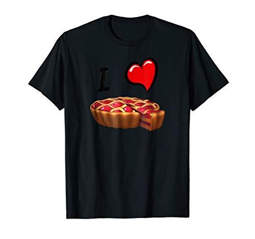 (Cherry Pie Slice T-Shirt Funny Random Tee Conversation Piece)