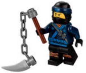 Amazon.com: LEGO Ninjago Movie Minfigure: Jay in ninja suit ...