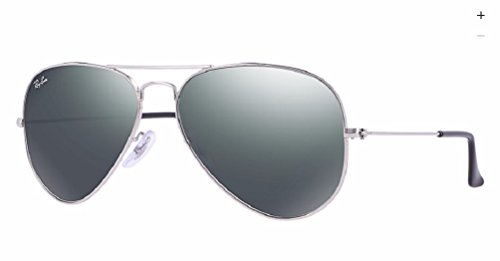 Ray-Ban – Gafas de sol, Hombre, RB3025 AVIATOR LARGE METAL, W3275