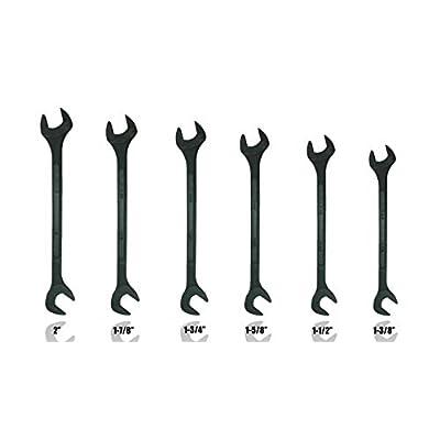 6pc Black Oxide Jumbo Angle Wrench Set, SAE