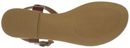 Madden Girl Women's Matcha Flat Sandal Cognac Paris qpJIlgcnc