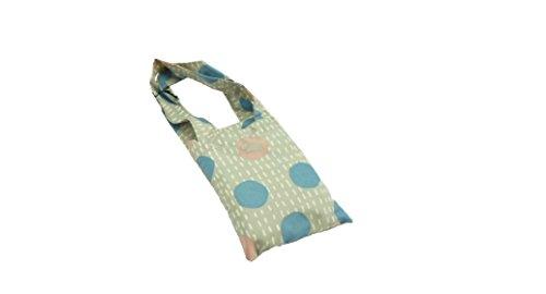 RADLEY 'Dashed Spotty' Pale Grey Foldaway Tote Bag