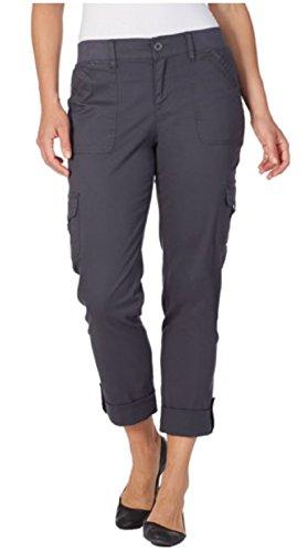 Penelope Pant - Penelope Women's Plus Grey Twilight Cargo Pants