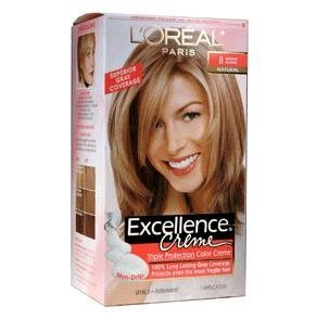 - Exc H/C Med Bld #8 R Size 1ct L'Oreal Excellence Creme Hair Color Medium Blonde #8