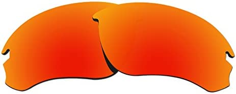 984afcc9b8 COLOR STAY LENSES 2.0mm Thickness Polarized Replacement Lenses for Oakley  Speed Jacket OO9228 Fire Red