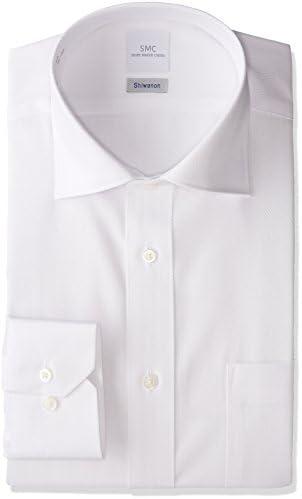 SMC Shiwanon 高機能形態安定 セミワイド ドレスシャツ