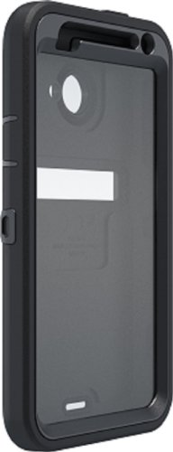 OtterBox Defender Series Case and Holster for HTC Droid Incredible 4G LTE ADR6410 - Retail Packaging - Black