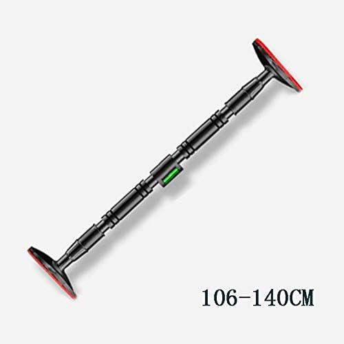 プルアップドアツードアプルアップダイナミックバランサー付きプルアップ、ねじを取り付けずに壁に取り付けられたバーベル、幅を調整可能フィットネスホームエクササイズプルアップトレーニングツール,L