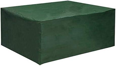 WOLTU Fundas Mesa Jardin Impermeable 242x162x100cm Resistente al ...