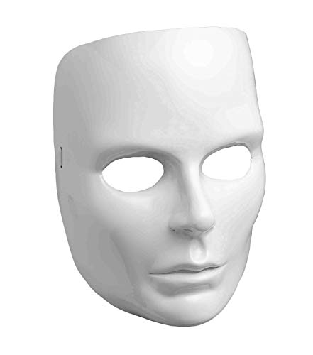 Women's White Full Face
