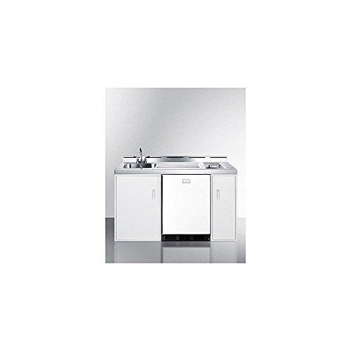 Summit C60ELGLASS Kitchen Combination White product image